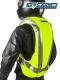 Helite TURTLE 2 Hi-Vis Gelb Motorrad Airbag-Weste