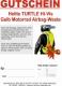 Geschenkgutschein Motorrad-Warnweste mit Airbag HI-VIS