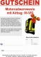 Geschenkgutschein Helite Turtle Hi-Vis Gelb - Motorrad Airbag-Weste