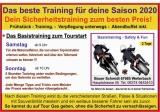 Sicherheitstraining  Safety-Sorglos-Paket Fr. 15. - So. 17. Mai 2020