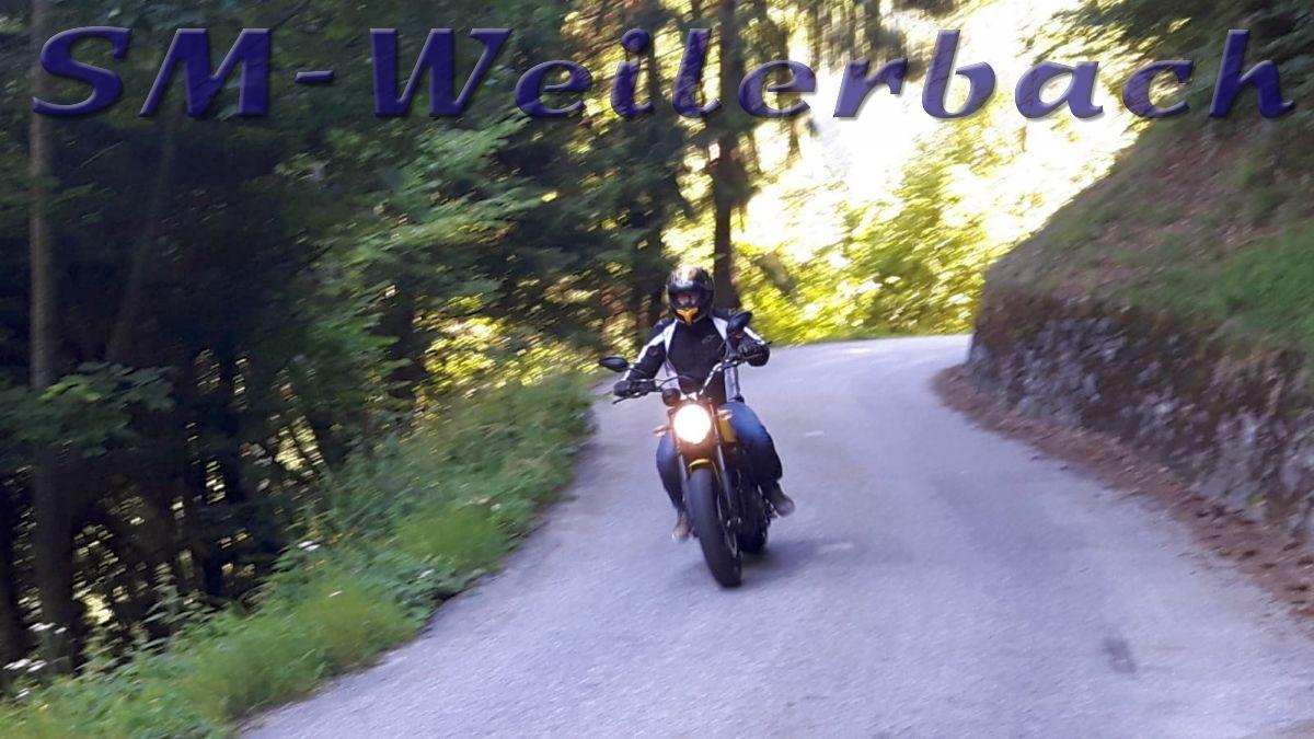 Motorradfahrer Bauer Schmidt - SM-Weilerbach