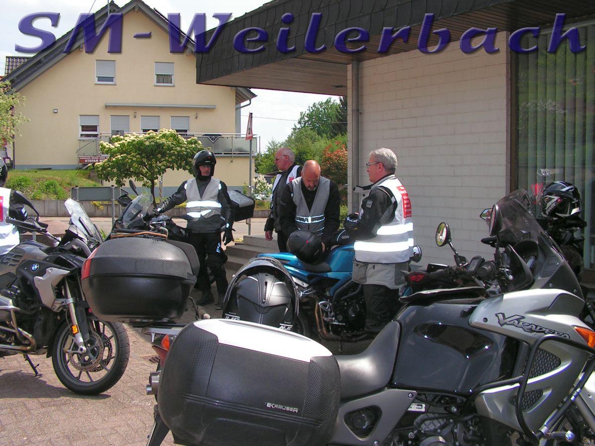 Motorradtour St. Wendel 12.05.18