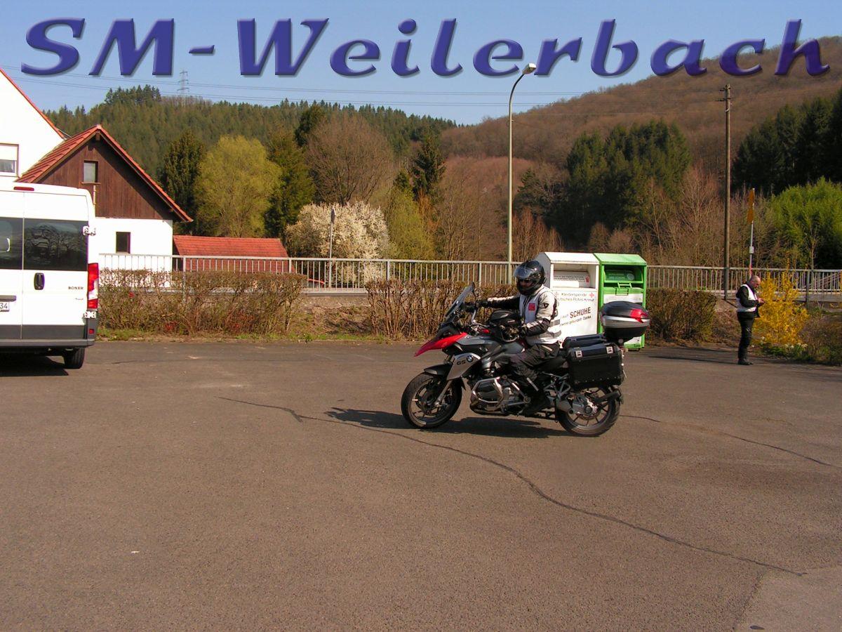 Motorrad-Sicherheitstraining Tag 2 - 2019