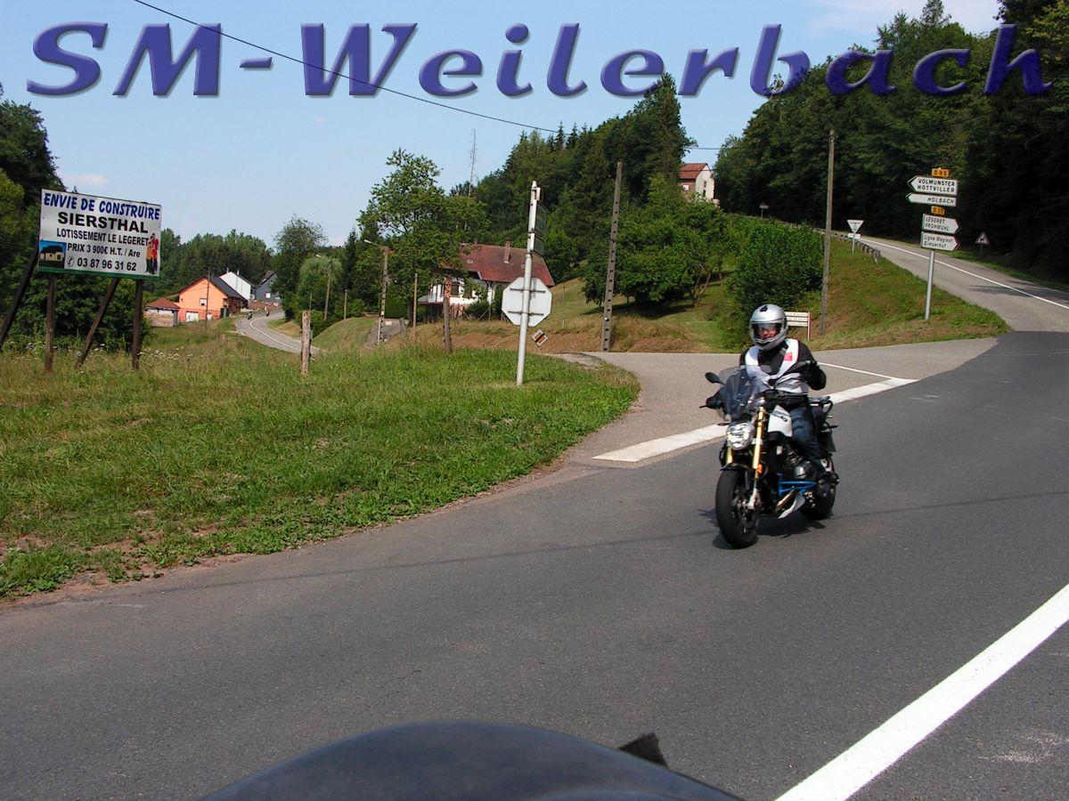 Schnuppertour Nordvogesen 04.08.18