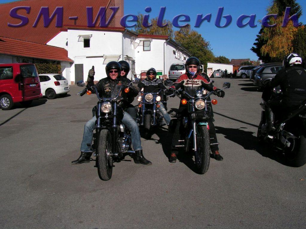 Biker bei Bauer Schmidt 211018