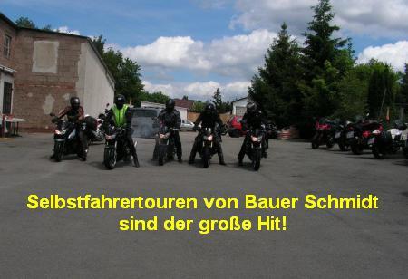 Motorrad Selbstfahrertouren