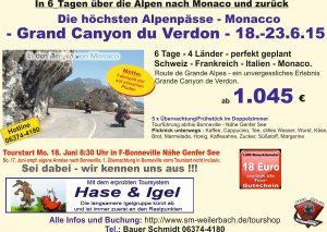 Grandes Alpes - 6 Tage über die Alpen nach Monaco @ Lidl   Bonneville   Rhône-Alpes   Frankreich