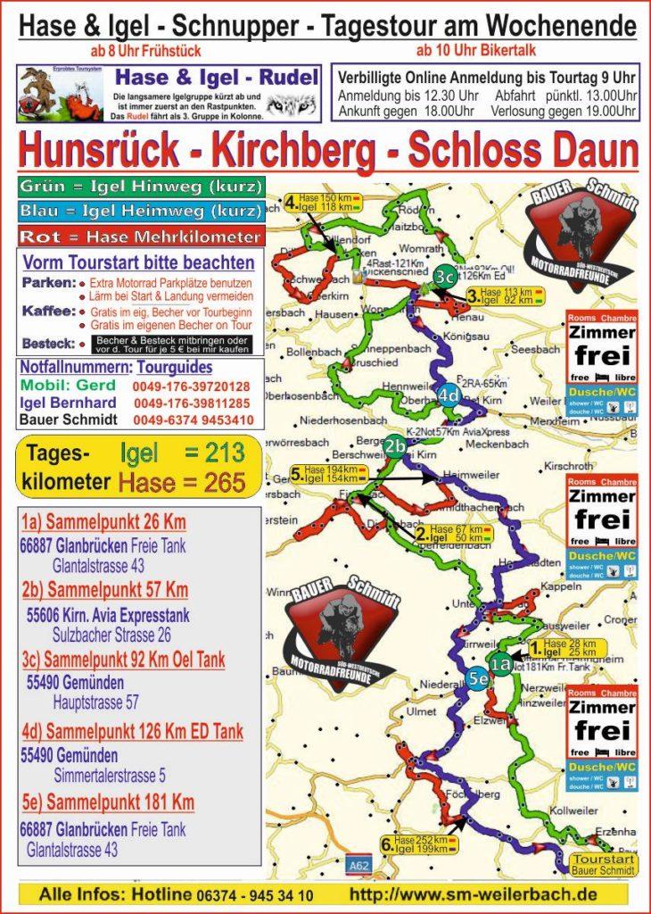 Schnuppertour Kirchberg-Dhaun