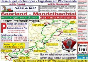 Motorradtour Mandelbachtal/Saarland