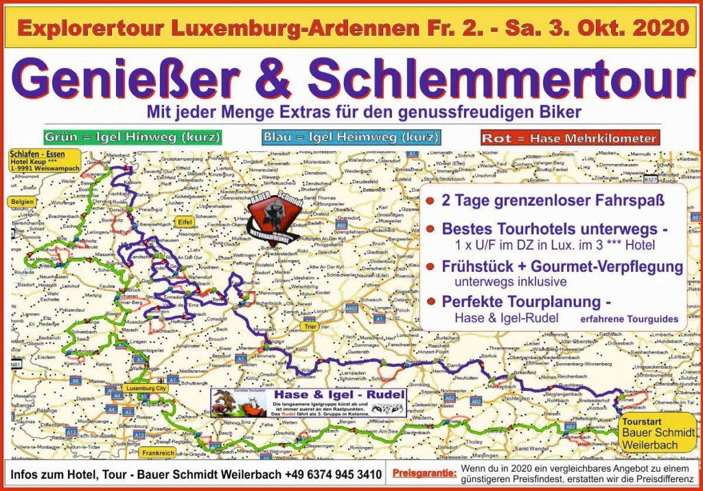luxemburg-motorradtour