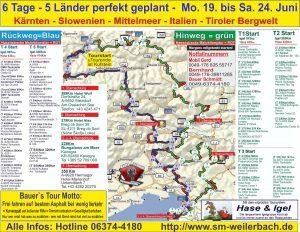Motorrad-Mehrtagestour slowenien-tourkarte17