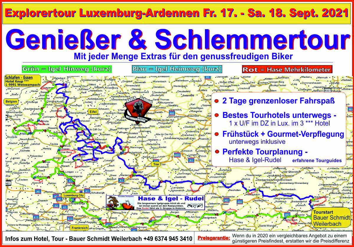 motorradtour luxemburg 2020
