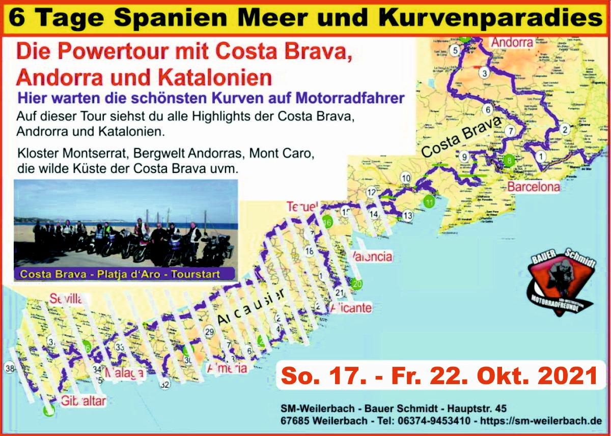 6 Tage Spanien