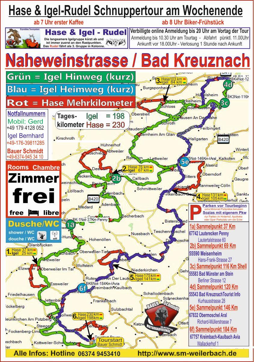 Motorradtour Bad-Kreuznach