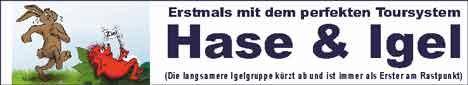 Tourkonzept Hase & Igel – Rudel